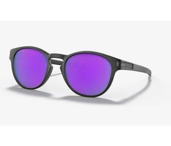 Oakley - Lunette homme latch matte black frame/prizm violet lenses