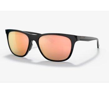 Oakley - Lunette soleil femme leadline polished black frame/prizm rose gold polarized lenses