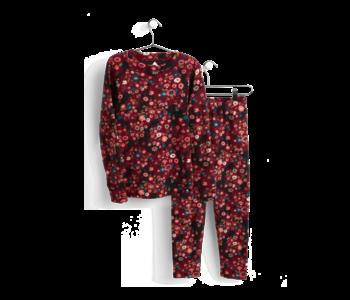 Burton - Sous-vêtement junior heavyweight fleece flower camo