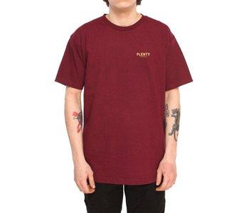 Plenty - T-shirt homme Marco burgundy
