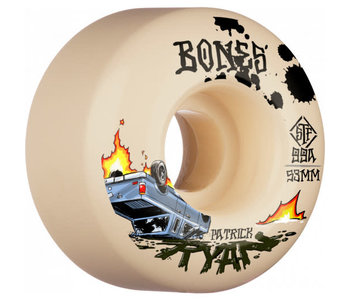 Bones - Roue skateboard stf ryan crash & burn natural 99A
