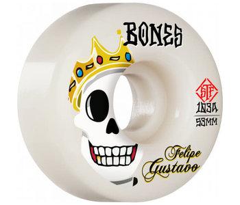 Bones - Roue skateboard stf Gustavo notorious 103A