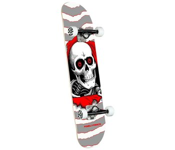 Powell Peralta - Skateboard complete ripper one off silver