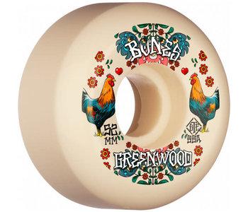 Bones - Roue skateboard stf Greenwood decoupe natural 99A