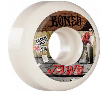 Bones - Roue skateboard stf jaws down 4 life white 103A