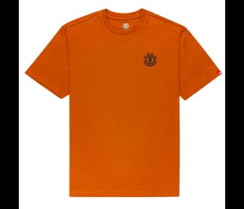 Element - T-shirt homme goletta glazed ginger