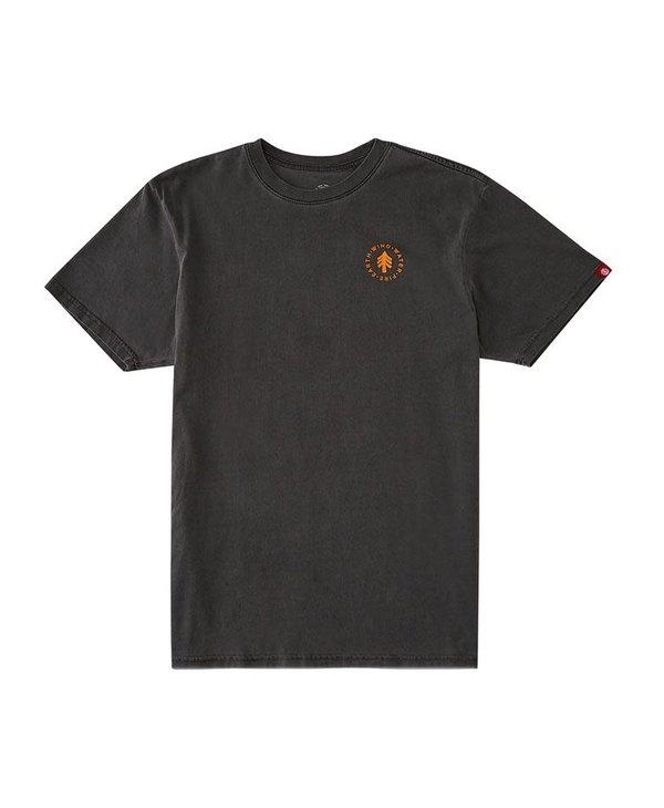 Element - T-shirt homme lahotan pigment flint black