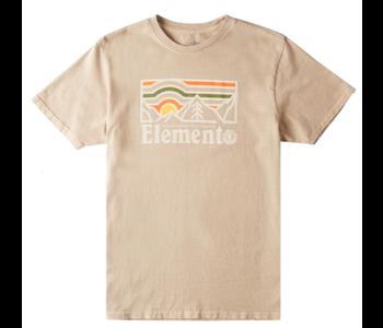 Element - T-shirt homme wander pigment desert khaki