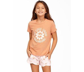 Billabong - T-shirt junior let love grow sandstone