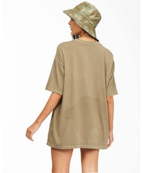 Billabong - T-shirt femme stay wavy baby sage