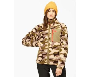 Billabong - Polar femme switchback full zip sage