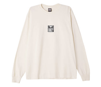 Obey - Chandail long homme obey eyes icon 3 heavyweight sago