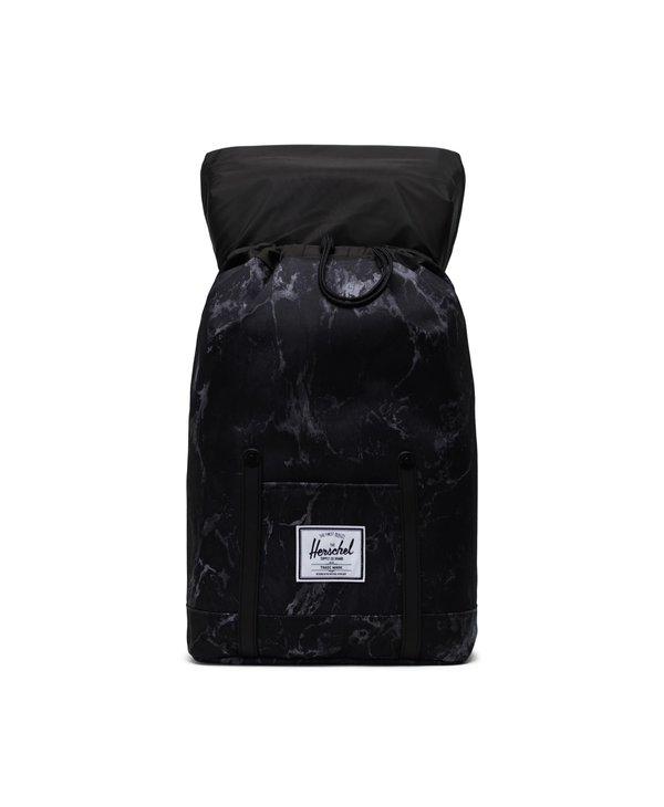 Herschel - Sac à dos retreat black marble