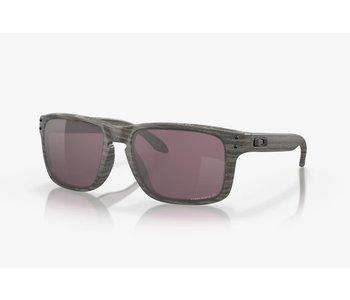Oakley - Lunette soleil homme holbrook woodgrain frame/prizm daily polarized