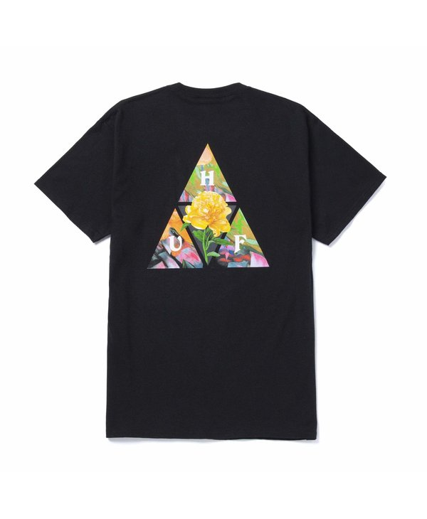 Huf - T-shirt homme new dawn black