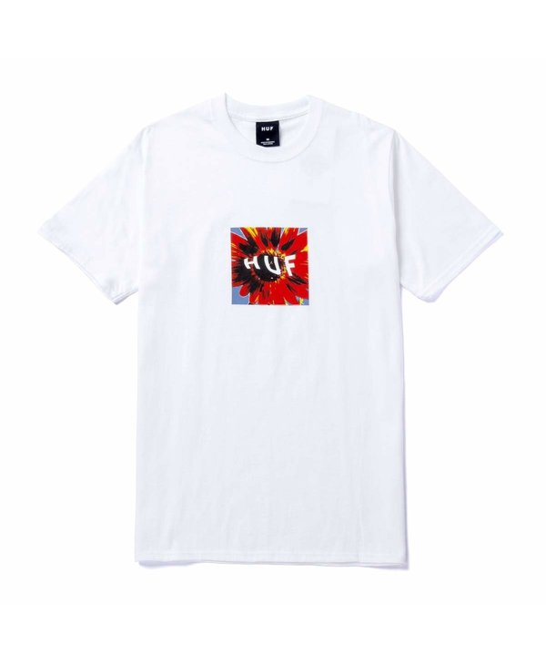 Huf - T-shirt homme daisy age white