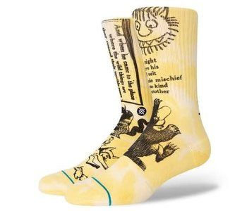 Stance - Bas homme where the wild things are terrible yellow