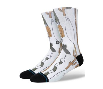 Stance - Bas homme ded man off white