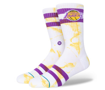 Stance - Bas homme nba lakers dyed gold