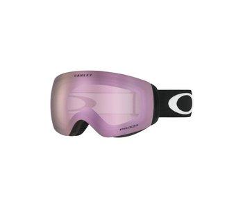 Oakley - Lunette snowboard flight deck matte black frame/prizm hi pink iridium