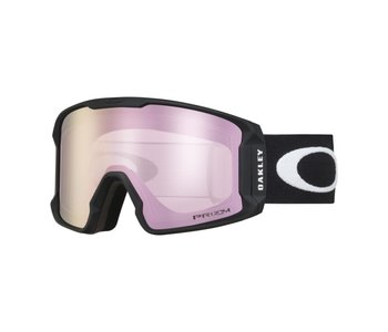 Oakley - lunette snowboard line miner matte black frame/prizm hi pink iridium