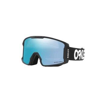 Oakley - Lunette snowboard line miner factory pilot black frame/prizm sapphire iridium