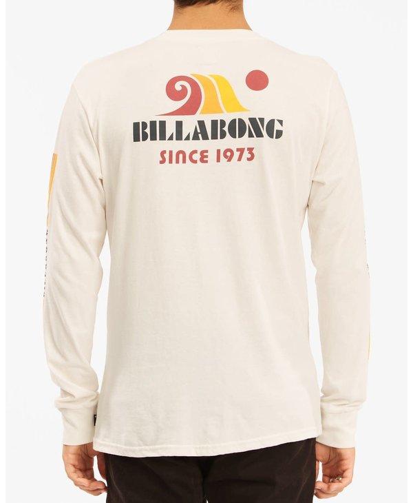 Billabong - Chandail long homme swell off white