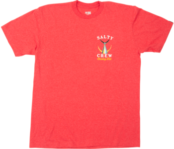 Salty Crew - T-shirt homme tailed standard red heather