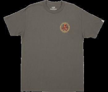Salty Crew - T-shirt homme deep reach charcoal