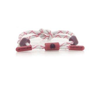Rastaclat - Bracelet femme knotted violet miasma