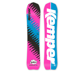 Kemper - Snowboard homme aggressor 1989/90