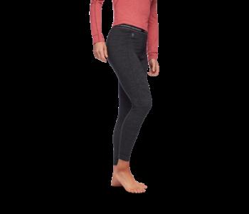 Black Diamond - Pantalon femme solution 150 merino base black