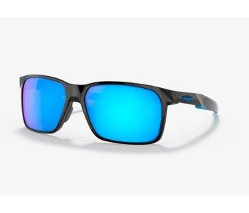 Oakley - Lunette soleil homme portal x polished black frame/prizm sapphire