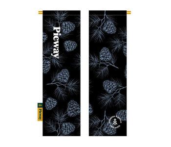 Picway - Mitaine à peaux cocotte black