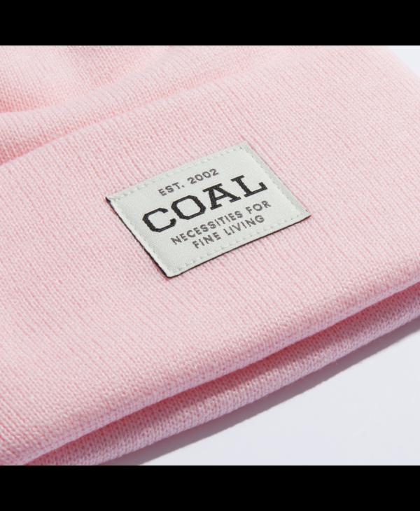 Coal - Tuque uniform knit cuff pink