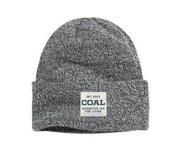 Coal - Tuque uniform mid knit cuff black marl