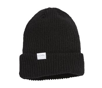 Coal - Tuque stanley soft knit cuff black