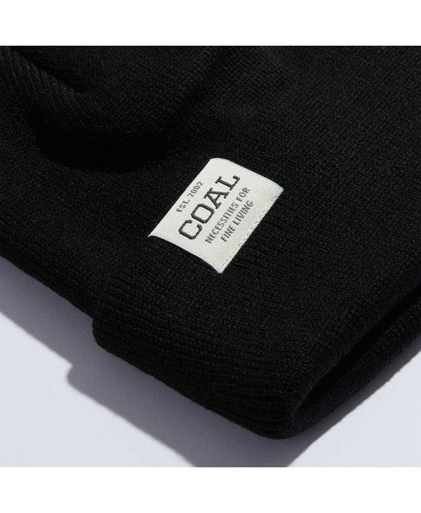 Coal - Tuque uniform low knit cuff black