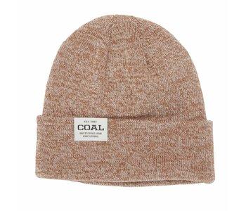 Coal - Tuque uniform low knit cuff light brown marl