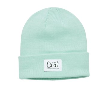 Coal - Tuque mel recycled polylana knit mint