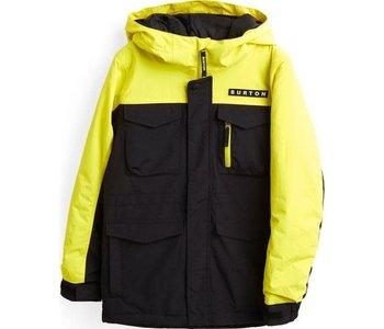 Burton - Manteau junior covert true black/sulphur yellow