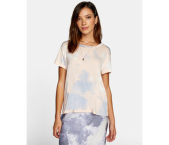 Rvca - T-shirt femme recess 3 pale pink