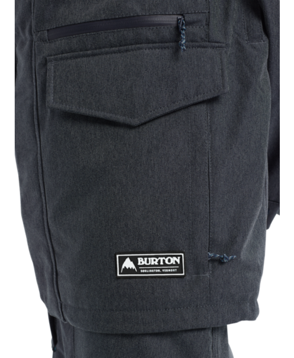 Burton - Manteau homme covert denim
