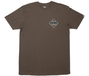 Salty Crew - T-shirt homme tippet refuge premium coal