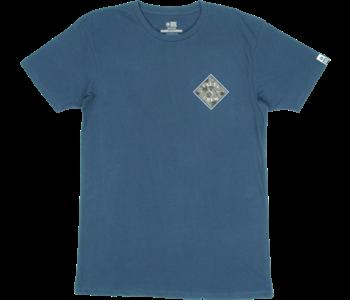 Salty Crew - T-shirt homme tippet refuge premium harbor blue