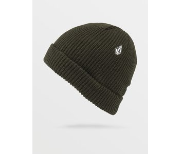 Volcom - Tuque homme sweep saturated green