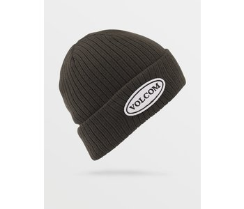 Volcom - Tuque homme cord black green