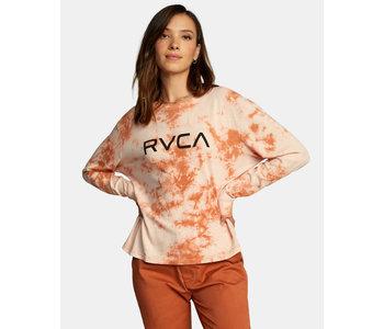 Rvca - Chandail long femme big rvca cocoa