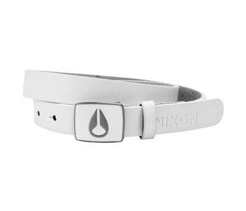 Nixon  - ceinture enamel icon slim