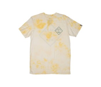 Salty Crew - T-shirt homme tippet tie dye white